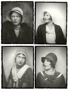 1930's Photobooth fashion