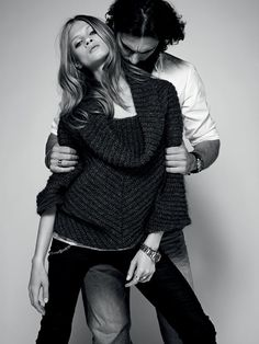 Anna Selezneva Sports Boyish Looks for Sets Fall/Winter 2012 Collection Fashion Editorial Couple, Denim Editorial, Fashion Couple, Fashion Shoot, Look Fashion, Girl Fashion, Anna Selezneva, Photoshoot Inspiration, Couple Shoot