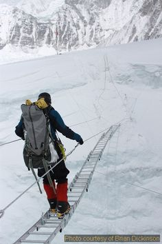 #Everest Solo Climb – An Interview with Brian Dickinson