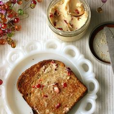 Tasty Kitchen Blog: Cranberry Butter. Guest post by Natalie Perry of Perry's Plate, recipe submitted by TK member MissyDew.