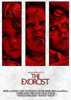 The Exorcist  Movie Poster THREE by HYDROLOGY on Etsy, $6.00