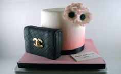 There Should Always Be Cake - PINK ANEMONE CHANEL CAKE