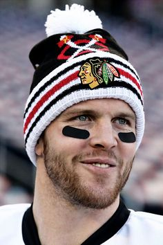 Brian Bickell at the 2015 Winter Classic #Blackhawks