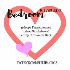 Diffuser blend using Frankincense, Sandalwood and Cinnamon