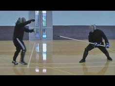 Spear vs Sword and Buckler Nick vs Mike Sparring