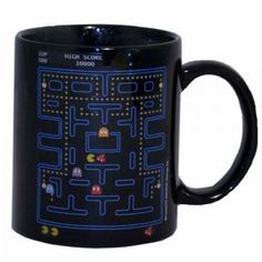 For the loft ;).  #Geek #Gamer #Mug #Pac-Man