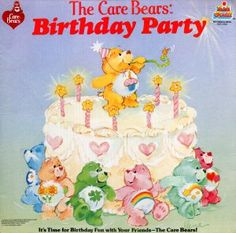 The Care Bears Birthday Party - Original Soundtrack LP/CD
