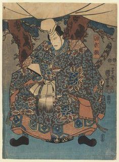 Musashi on the back of a whale - Utagawa Kuniyoshi Miyamoto Musashi, Samurai, Kuniyoshi, Framed Art, Wall Art, Art Japonais, Free Canvas, Japanese Artists, Woodblock Print