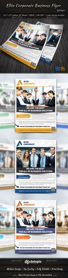 Elite Corporate Business Flyer Template PSD. Download here: http://graphicriver.net/item/elite-corporate-business-flyer/14488532?s_rank=155&ref=yinkira