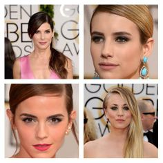Look das famosas no Golden Globe Awards 2014! #gga #GoldenGlobe2014