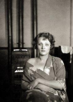 Marlene Dietrich photographed by Emil Orlik, c.1923