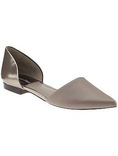 Calvin Klein Laura Flats.  Got these beauties at Bloomingdale's outlet today!