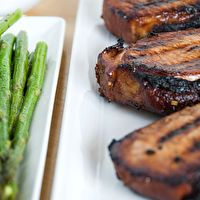 Teriyaki Pork Chops by Use Real Butter