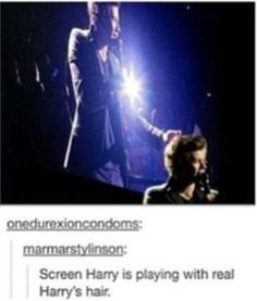 screen harry gets feels. welcome to the fandom.
