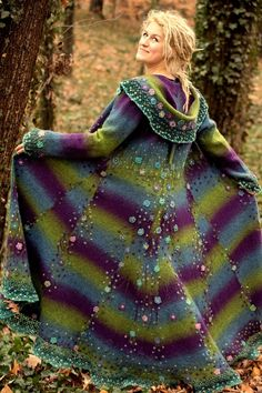 This looks like a knitters dream or nightmare! I love the embroidery!