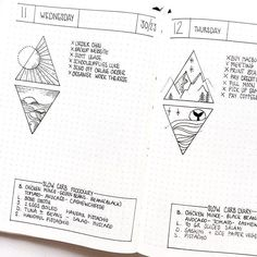 Ideas for bullet journaling