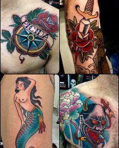Tradicional tattoos por Elisandro Calheiros