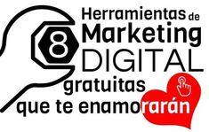 El marketing digital necesita de múltiples herramientas para su realización. En este post te hemos preparado un lote de ocho que puedes utilizar de manera totalmente gratuita y que funcionan realme…
