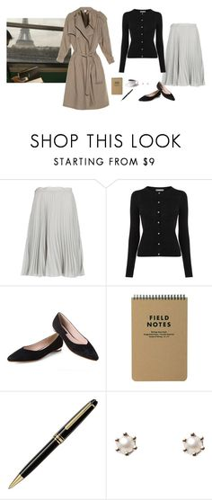 """Untitled #324"" by inlateautumn ❤ liked on Polyvore featuring MANGO, Montblanc, Satomi Kawakita and Vetements"