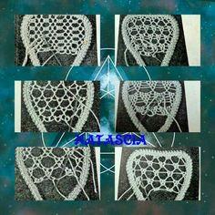 Crochet bolero o chaleco bien facil - Crochet Afgans Filet Crochet, Irish Crochet, Crochet Lace, Crochet Shawl, Russian Crochet, Crochet Doilies, Needle Lace, Bobbin Lace, Lace Embroidery
