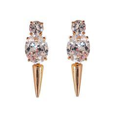 #nOir Jewelry             #Earrings                 #Mini #Punk #Earrings     Mini Punk Earrings                                  http://www.snaproduct.com/product.aspx?PID=5860285