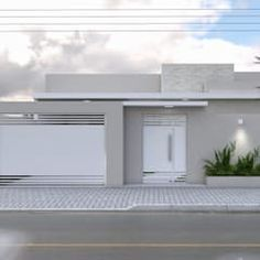 Discover recipes, home ideas, style inspiration and other ideas to try. House Entrance, House Exterior, House Gate Design, House Outside Design, Entrance Gates Design, Contemporary House, Modern House Exterior, Bungalow House Design, Small House Design Plans
