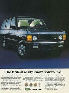 '70s Range Rover