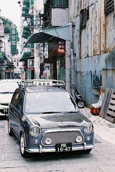 Did a better job than BMW. And yes It's Nissan Micra giving all tech specs Classic Mini, Classic Cars, Mini Morris, Automobile, Kei Car, Pontiac Firebird, Firebird Car, Daihatsu, Cute Cars
