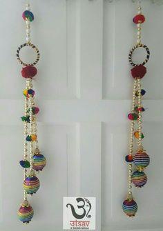 Diya Decoration Ideas, Diy Diwali Decorations, Festival Decorations, Flower Decorations, Door Hanging Decorations, Wall Hanging Crafts, Diwali Diy, Diwali Craft, Diy Arts And Crafts