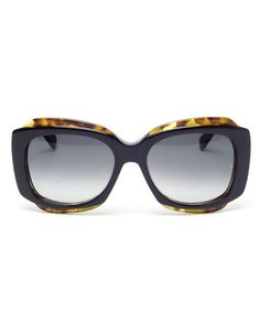 'Tak' Winged Acetate Sunglasses by OLIVER GOLDSMITH