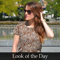 Good morning!! New post #animalprint night Style!! Check the blog http://www.theprincessinblack.com  Happy Friday!!  #fashionblog #lookoftheday #lookbook #outfit #itgirl #toppic #instagrampic #bestpic #streetstyle #beauty #happy #followme #havefun #instagramlikes #blogger #blog #blogmoda #glamour