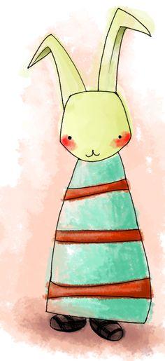 rabbit, illustration