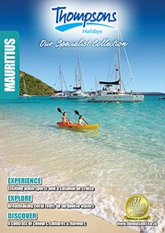 Browse Thompsons Specialist collection of travel brochures Top Destinations, Mauritius, Brochures, South Africa, Explore, Holiday, Collection, Vacations, Holidays