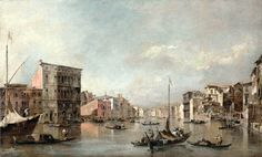 Francesco Guardi - The J. Paul Getty Museum 2005.41. The Grand Canal, Venice, with the Palazzo Bembo (c. 1768) | by lack of imagination