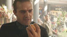 Gabriel takes Louis over in the Vega marketplace  | Ouroboros 1x07 episode recap #archangel #syfy ProjectFandom.com