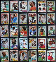1981 Topps Football Cards Complete Your Set You U Pick From List 401-528 Football Cards, Baseball Cards, Archie, Lions, Vikings, The Vikings, Lion, Soccer Cards