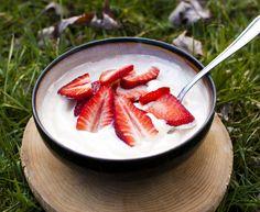Homemade Unsweetened Vegan Yogurt (without a yogurt maker!)