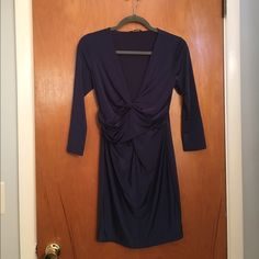 Navy Blue Guess Dress Perfect for a date night or party worn once for only a few hours. Sure to get you compliments! Guess Dresses Mini