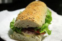 Pão tipo Subway - NacoZinha - Blog de culinária, gastronomia e flores - Gina