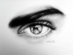 drawings of eyes | 40 Beautiful and Realistic Pencil Drawings of Eyes