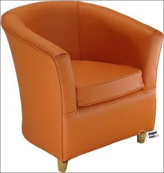 Orange Bucket Chair Office Customer Chairs 73 Best Tub Images Chesterfield Sofa Family Leather Tangerine
