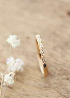 Kultainen AneMy Rae sormus briljanteilla : Annette Tillander Webshop