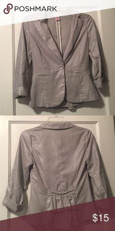 ⭐️ Candies blazer Lightly worn. Tops 4 for $10! Candie's Jackets & Coats Blazers