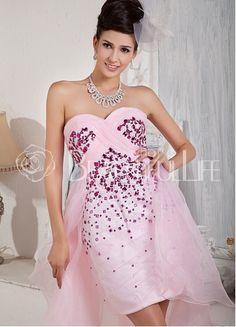 $199.49 Penny Adorable Satin #Sheath/Column Organza Sweep Train #Sweetheart Beading #Evening #Dress– Discount #Evening #Dresses