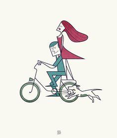 O amor ilustrado de Ale Giorgini
