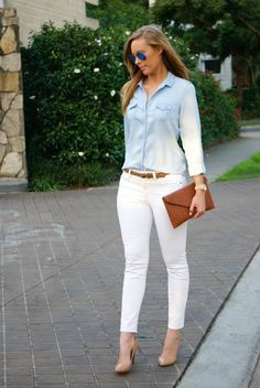 Style Sessions Link Up – How To Wear White Jeans Plus Win Ray-Ban Sunglasses