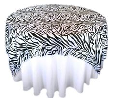 ZEBRA OVERLAYS....GO WILD!!! :  wedding black bouquet cake ceremony diy dress engagement flowers jewelry makeup reception red ring shoes white zebra overlays zebra tablecloths 2012 01 03 011314