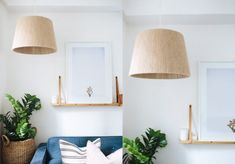 A Pair & A Spare | DIY Twine Wrapped Lampshade (Another Ikea hack!)