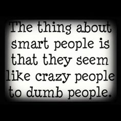 But other smart people get it.