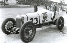 Indy 500 winner 1931: Louis Schneider  Starting Position: 13  Race Time: 5:10:27.930  Chassis/engine: Stevens/Miller